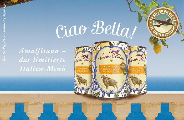 Amalfitana - Bella Italia im Hundenapf