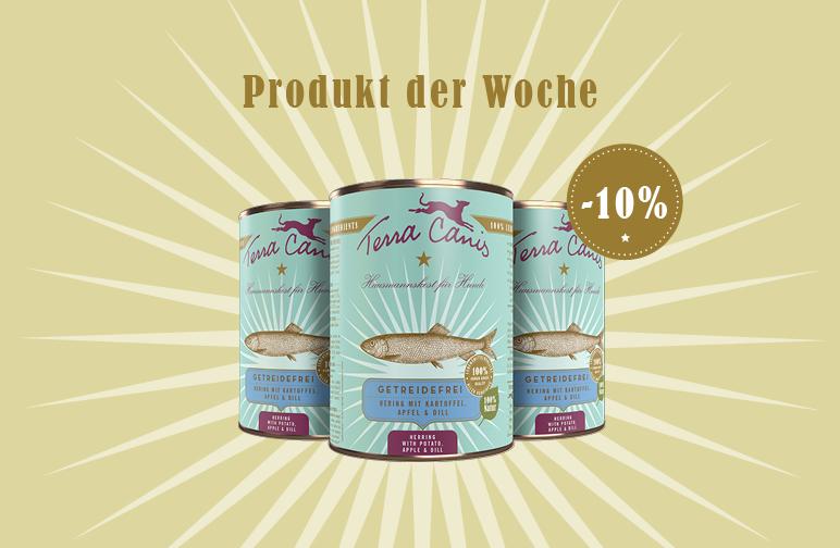 Produkt der Woche: Getreidefrei Hering