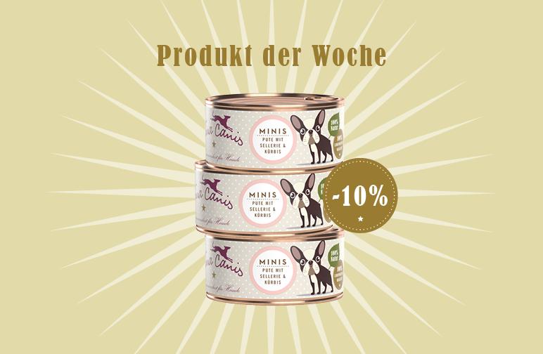Produkt der Woche: Mini Pute mit Sellerie & Kürbis