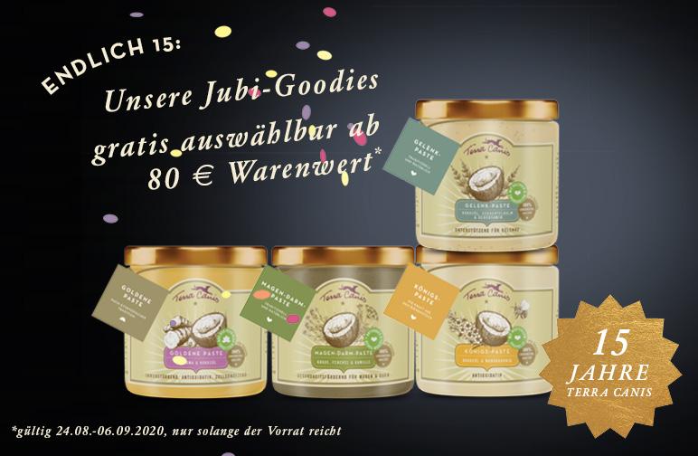 Jetzt unsere Pasten ab 80 € als Gratis-Goodie sichern