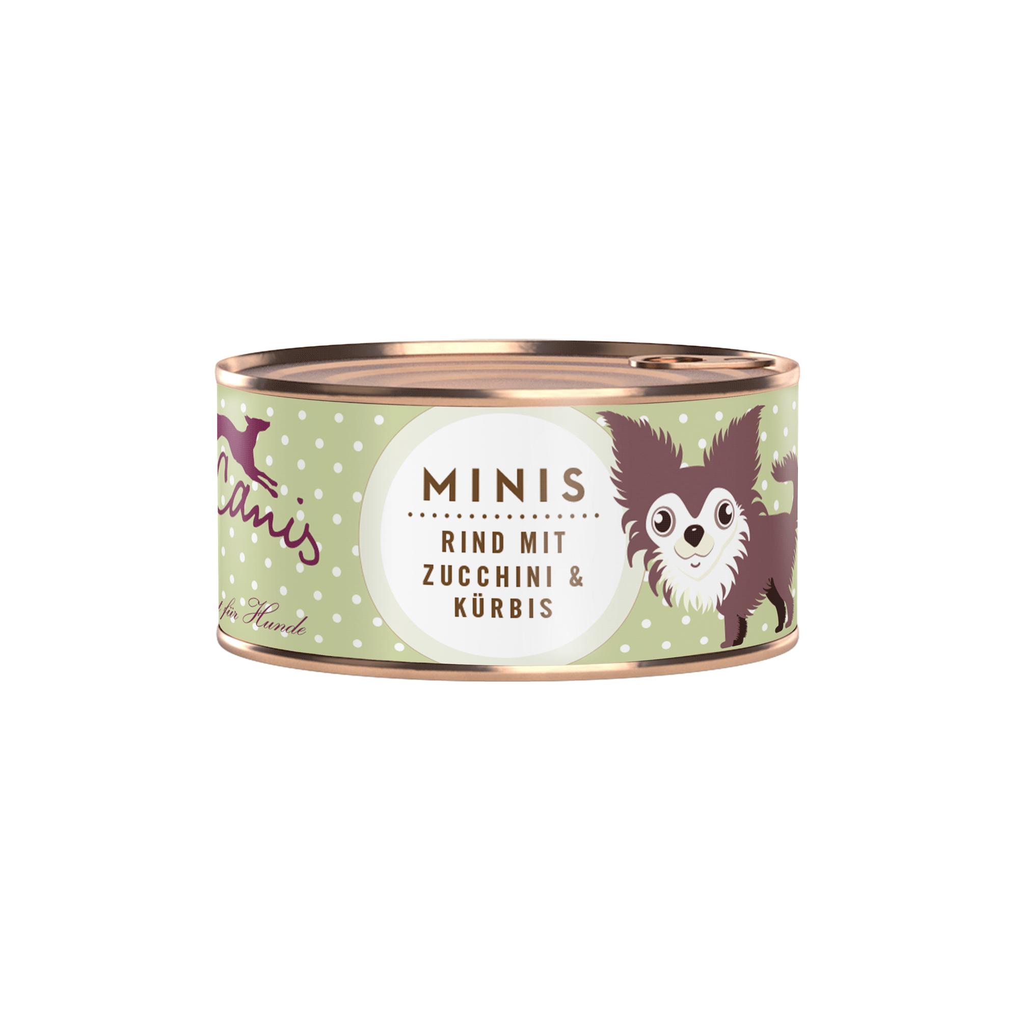 Terra Canis Minis | Rind mit Zucchini und Kürbis 100g