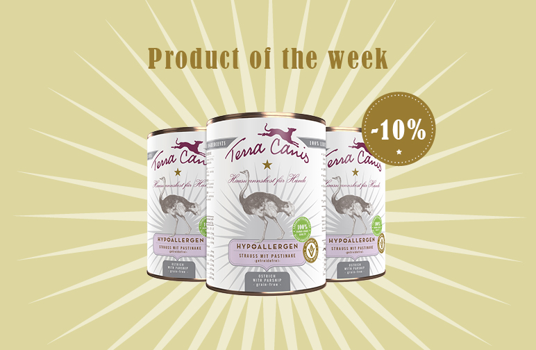 Product of the Week: Hypoallergenic Ostrich