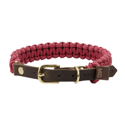 Collar – Bordeaux-coloured