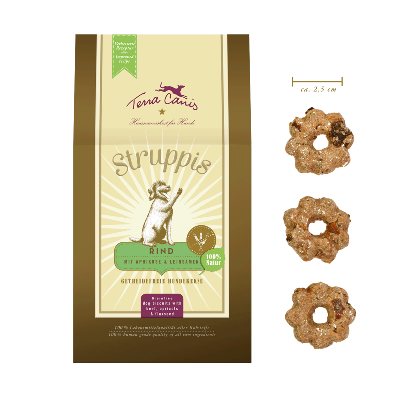 STRUPPIS: dog biscuits
