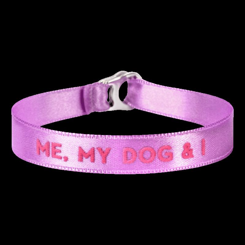 "Braccialetto ""me, my dog and I"""
