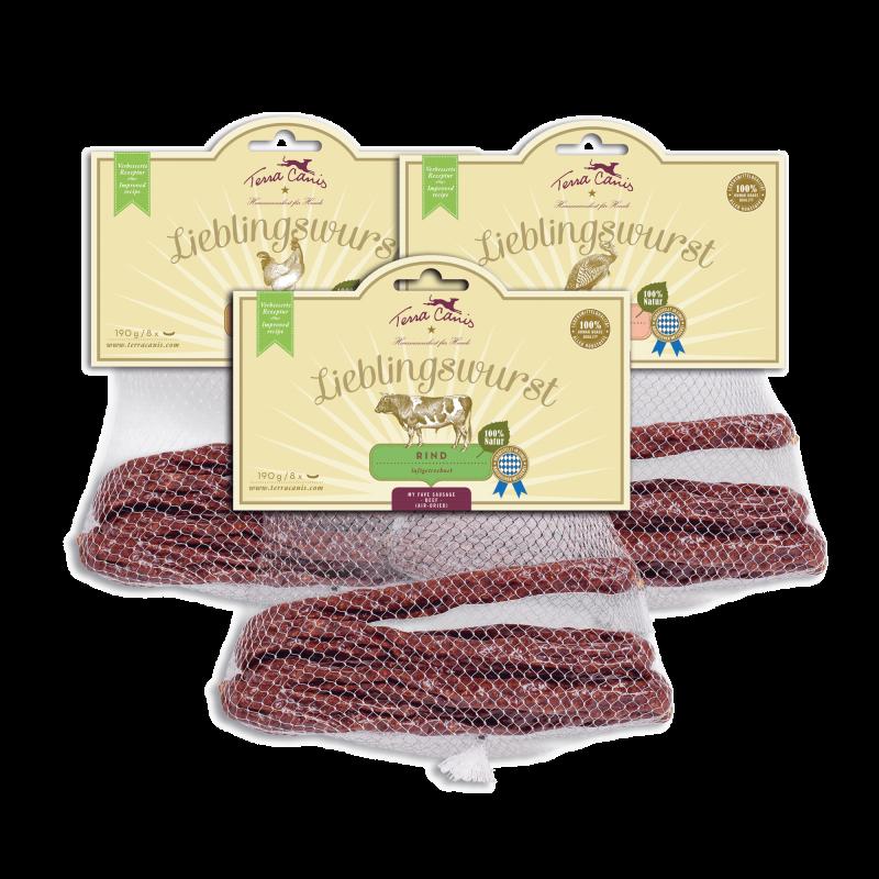 Lieblingswurst : air-dried sausage