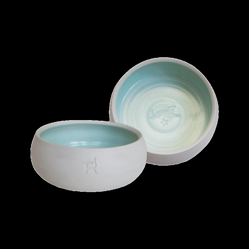 Écuelle en céramique – couleur naturelle / menthe