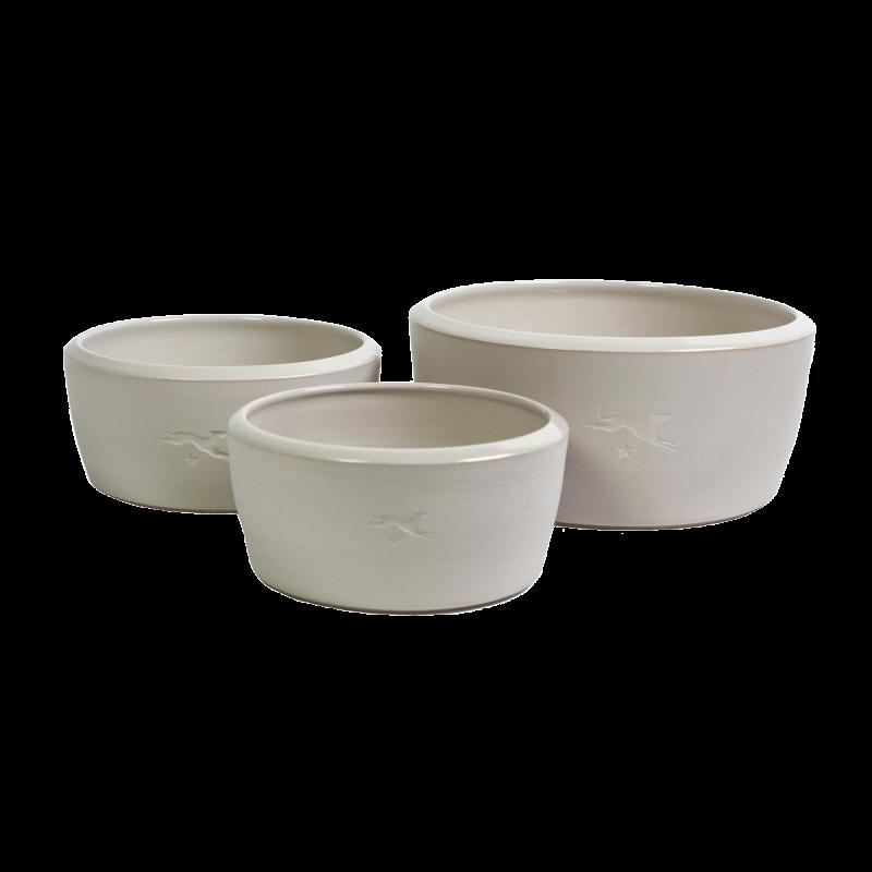 Ciotola in ceramica - colore naturale