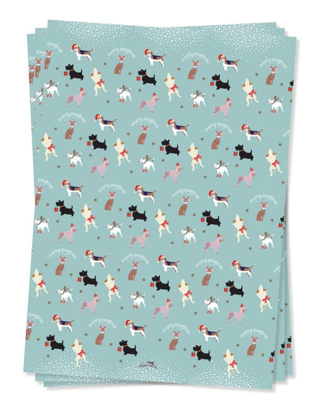 Terra Canis wrapping paper