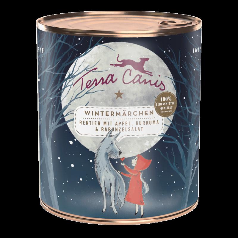 Winter Fairy tale – Renna con mela, curcuma e songino