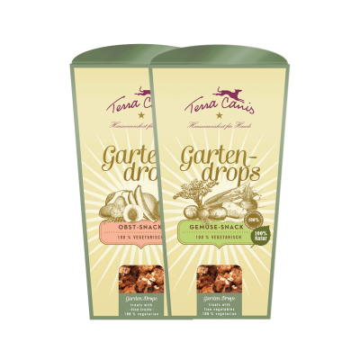 GARDEN DROPS: vegetarian dog biscuits