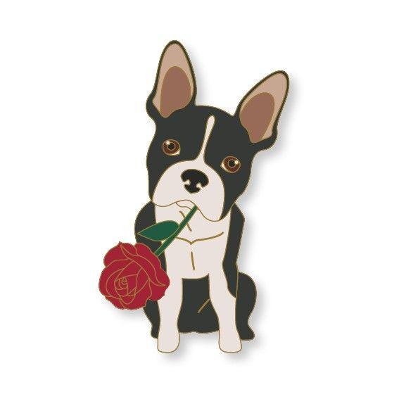 Terra Canis Pin – frz. Bulldogge