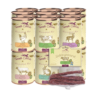 Pacchetto gourmet L / 24x400 g