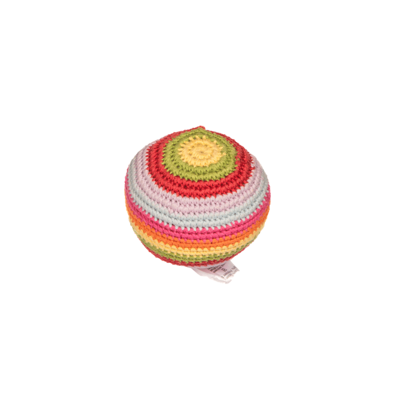 Stripey Crochet Ball